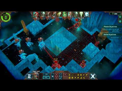 Warhammer 40,000 Mechanicus: Battle Gameplay |