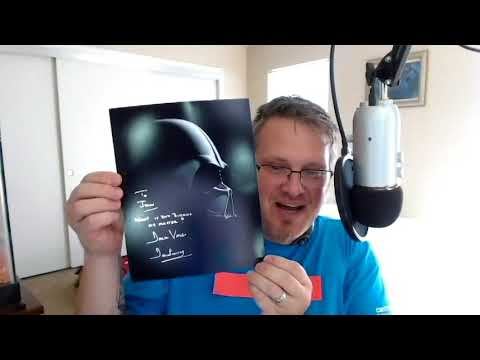 Unboxing Dave (Darth Vader) Prowse's Autograph