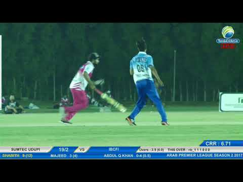 Abdul Q Khan (TBCF) | Bowling | Arab Premier League 2017, UAE