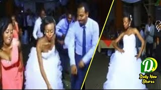 Ethiopian Wedding Bridal and Groom dance