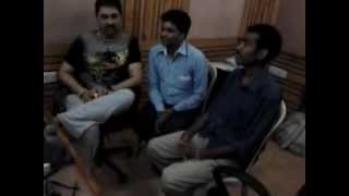 KUMAR SANU WITH ROHITRAJ GUPTAA AND CM RAI, OCEAN STUDIO .mp4
