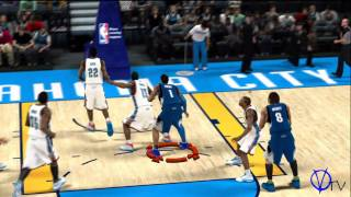 NBA 2K11 | Box Out and Getting Position for Rebounds