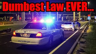ANGRY COP Harasses Modified Cars For NOTHING! (Texas needs to change this law...)