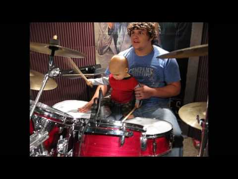Shane and Zane in the Drum Room September 2009