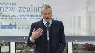 New Zealand attack victims remembered at the Baitul Futuh Mosque, London