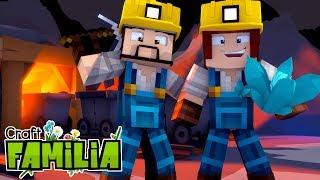 Minecraft Familia #08 - CONTRATEI UM MINERADOR !!