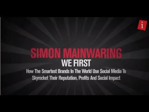 iStrategy Melbourne 12 - Simon Mainwaring keynote