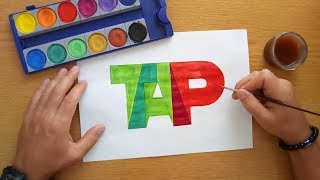 How to draw the TAP Portugal logo