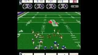 ABC Monday Night Football SNES