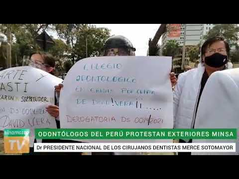 Cirujanos dentistas exigen derogatoria de DS 014  que conculca derecho de libre elección en C. Odont