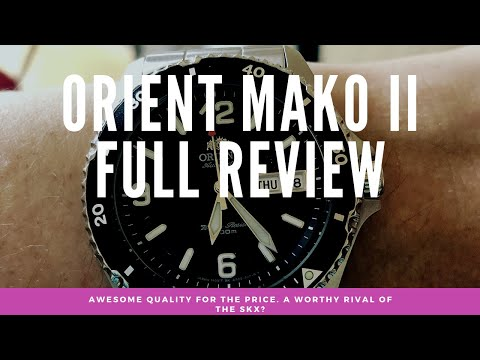 The Orient Mako Ii Full Review  Awesome Quality For The Price, 'safe' Design