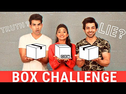 BOX Challenge | Rimorav Vlogs