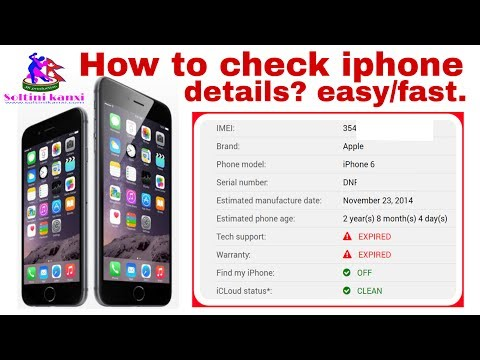 How To Check Your iphone is Fake or Real ?Fake iPhone 6- How To Identify?
