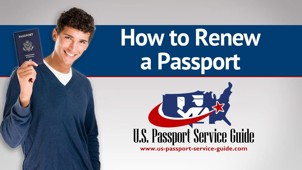 us passport service guide How to Renew a Passport - YouTube