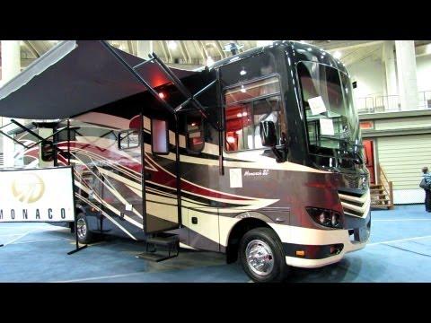 2014 Monaco Monarch SE 32WBD Motor Home - Exterior and Interior Walkaround - 2013 Montreal RV Show