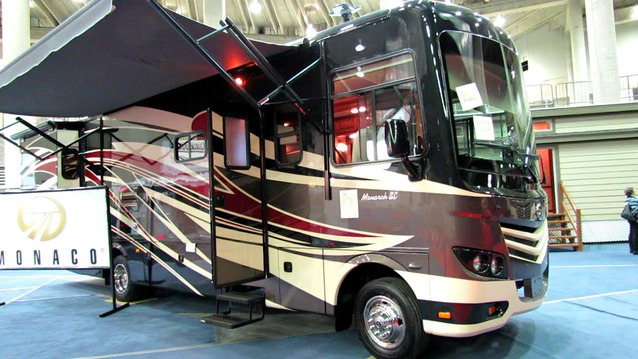 2014 Monaco Monarch Se 32wbd Motor Home Exterior And
