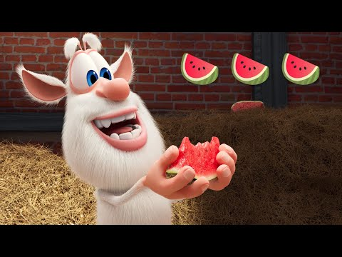 Booba 🍉 Rolling Watermelon 🐝 Episode 65 - Funny cartoons for kids - BOOBA ToonsTV