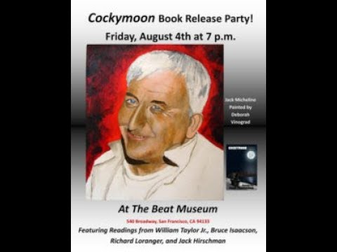 """Jack Micheline 2017 Book Release & Readings from """"Cockymoon"""""""