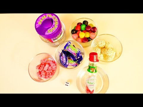 NEUE Candy Challenge mit dem Würfel | Center Shock, Jelly Beans & Süßigkeiten Strafe | Lustig