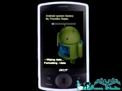 Tutorial Hard Reset Acer E101
