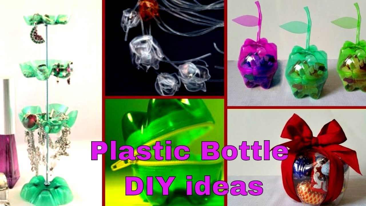Recycle ideas for plastic bottles..!
