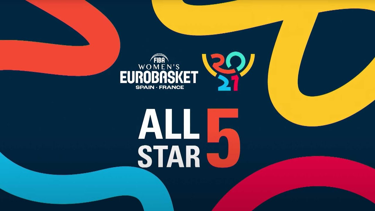 The Best Of the FIBA Women's EuroBasket 2021 All-Star 5!