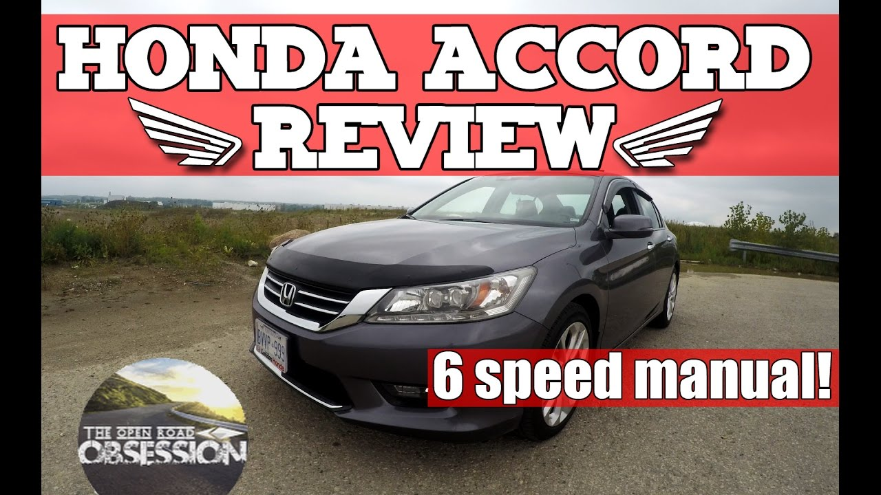 2014 Honda Accord Review 6 Speed Manual Pov Interior Exterior