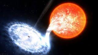 NASA Captured A Black Hole Destroying Star!