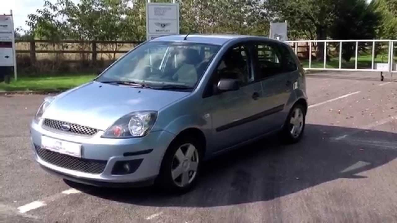 2006 06 ford fiesta zetec climate 5 door for sale youtube. Black Bedroom Furniture Sets. Home Design Ideas