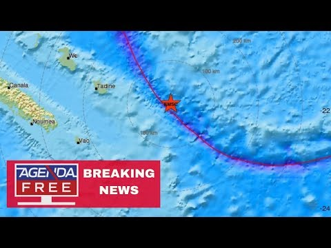 Tsunami Threat from 7.5 Earthquake - LIVE BREAKING NEWS COVERAGE