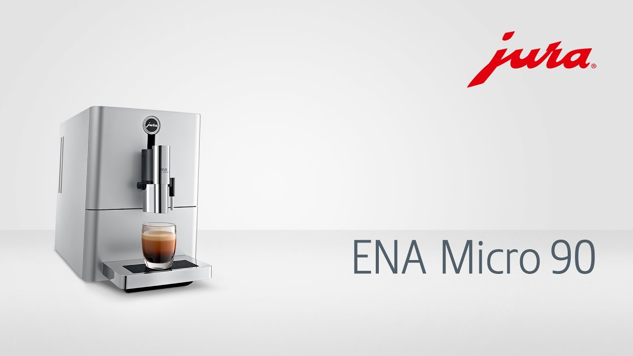 jura ena micro 90 kaffeevollautomat fully automatic coffee machine youtube. Black Bedroom Furniture Sets. Home Design Ideas