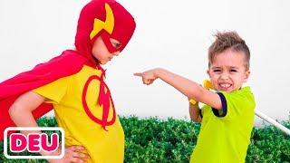 Vlad wurde ein Superheldenkind und hilft Freunden