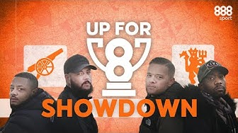 TROOPZ & DT v GOLDBRIDGE & RANTS | Arsenal v Man Utd Epic Preview SHOWDOWN | 888sport #Upfor8