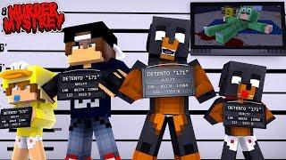 Minecraft Murder Mystery - WHO KILLED LITTLE LIZARD?!!!