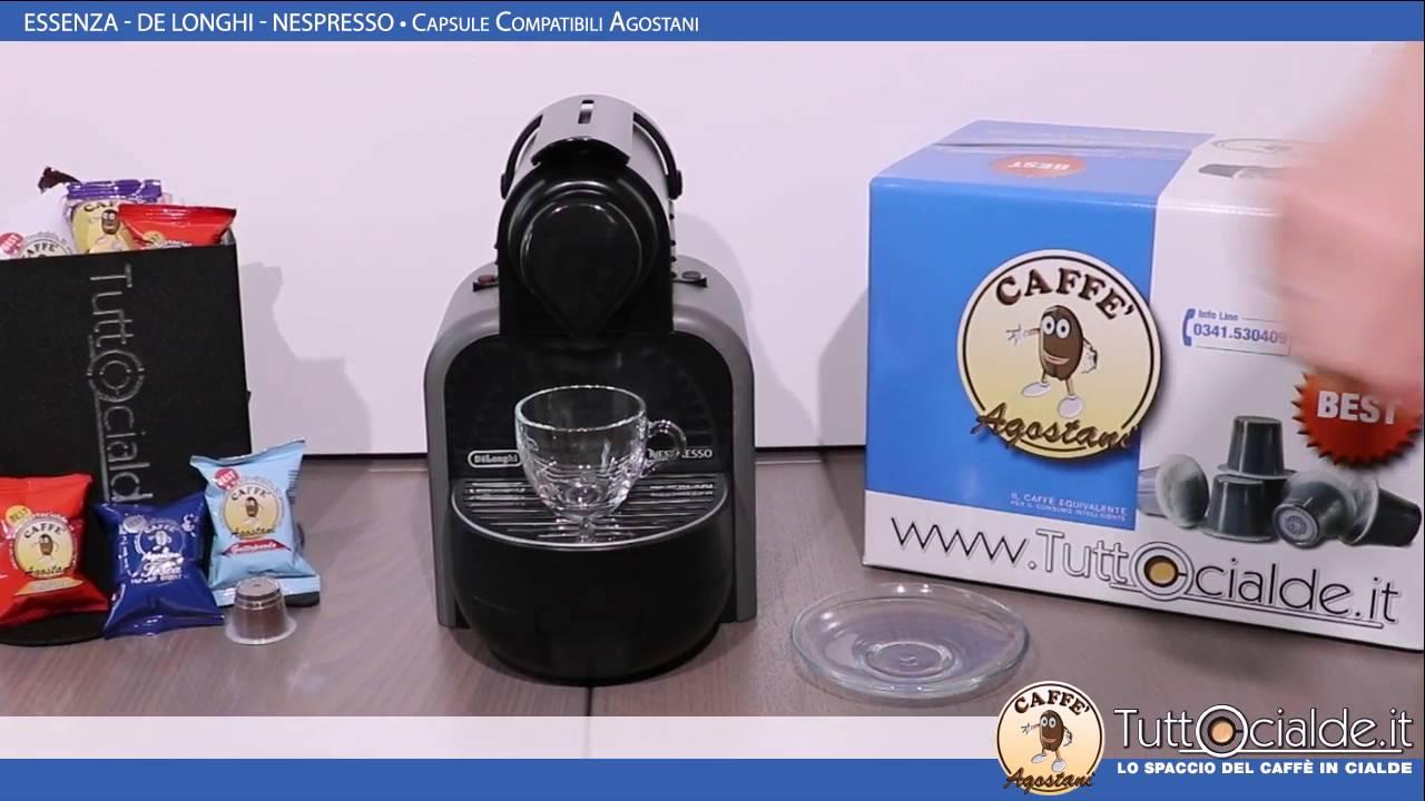 Essenza Delonghi Nespresso E Capsule Compatibili Agostani Best