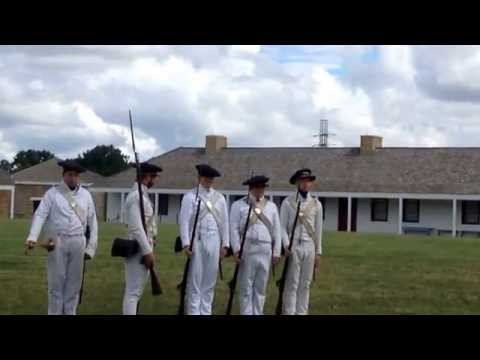 Historic Fort Snelling- rifle demonstration