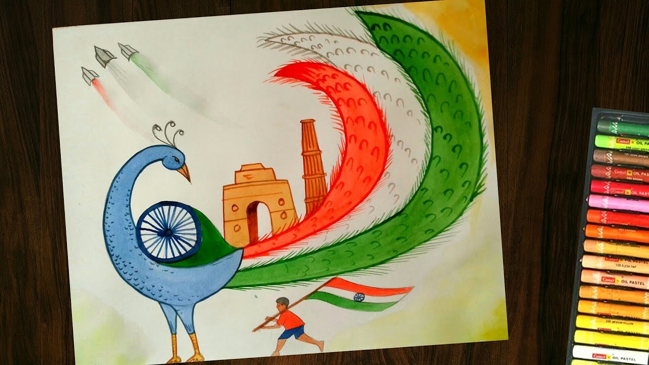 Easy Drawings On Indian Culture