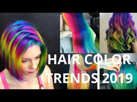 2019 hair color trends ideas transformation pt 1