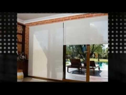 Cortinas roller blackout youtube for Cortinas black out