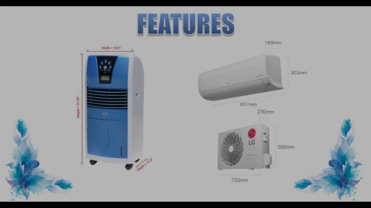 Air Cooler Vs Air Conditioner : Air cooler vs conditioner youtube