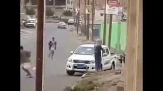 اكشن يمني حقيقي حرب شوارع في قلب صنعاء