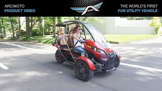 Arcimoto SRK - Fun Utility Vehicle