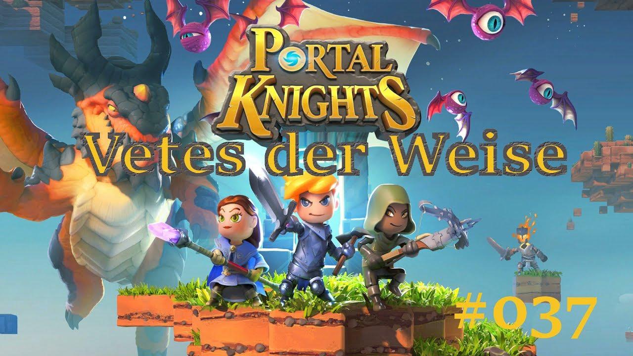 Lets Play Portal Knights 037 Das Portal Der Herbstquellen Youtube
