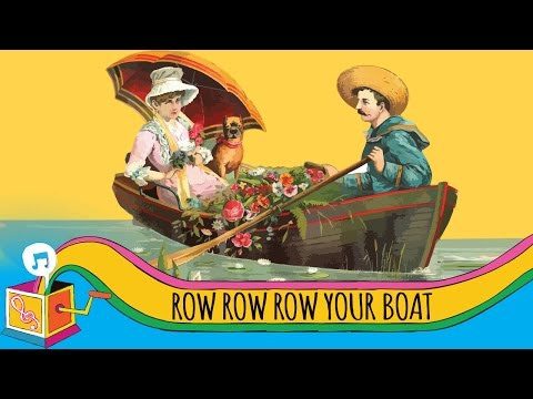 Row, Row, Row Your Boat | Karaoke