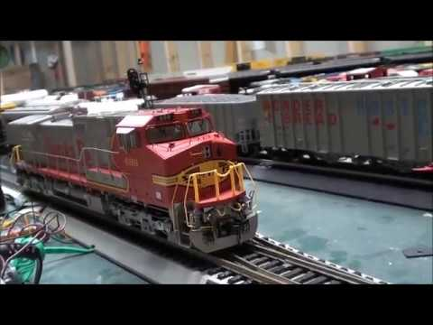 Locomotive Update: ScaleTrains Dash-9 In Santa Fe Scheme And Thoughts On Lombard Hobbies