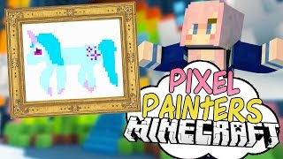 Unicorn Minions | Pixel Painters | Minecraft Art Minigame