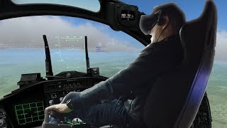 The Wet Dream Of VR Simulator Fans: Playing DCS & Dirt Rally In A 6-DOF Motion Chair!