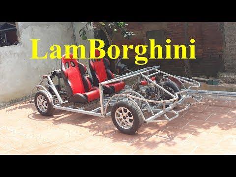 Homemade Lamborghini car part 16