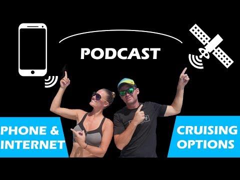 Communications & Internet While Cruising - Sailing Doodles Podcast 11