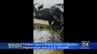 Plane Crashes In Eastern Afghanistan